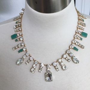 """Kate Spade """"Opening Night"""" Crystal Necklace"""
